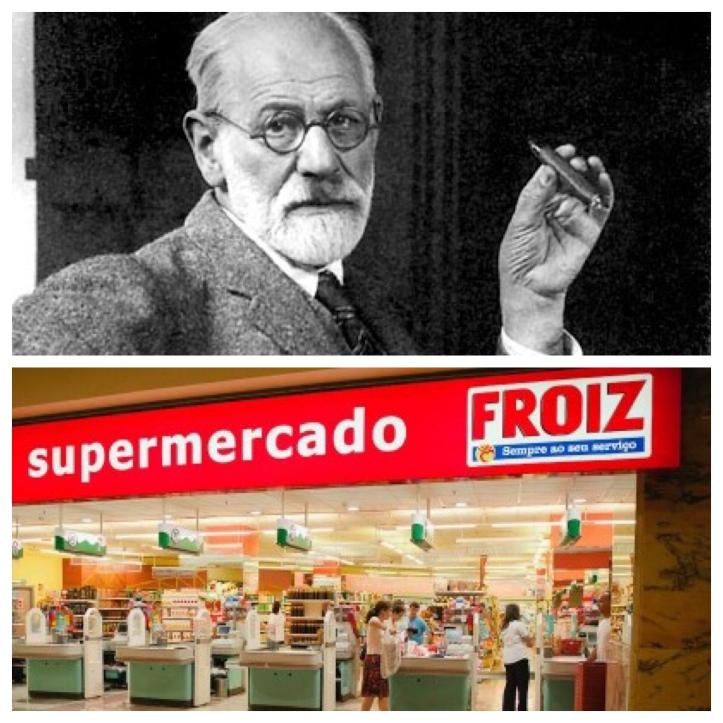 Freud, tras sentar las bases del psicoanálisis, tuvo tiempo de desarrollar una exitosa línea de supermercados que aún hoy perdura.